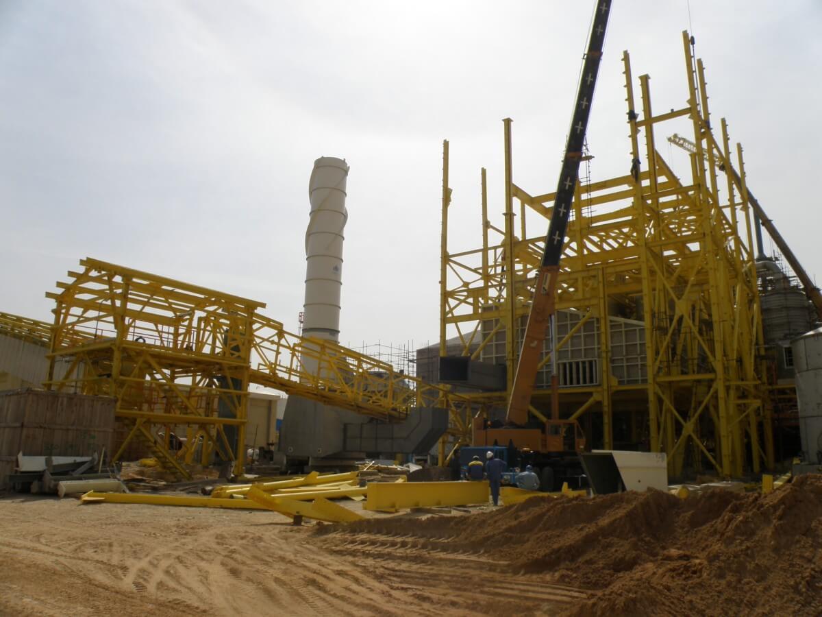 سازه فلزی نفت، گاز، پتروشیمی
