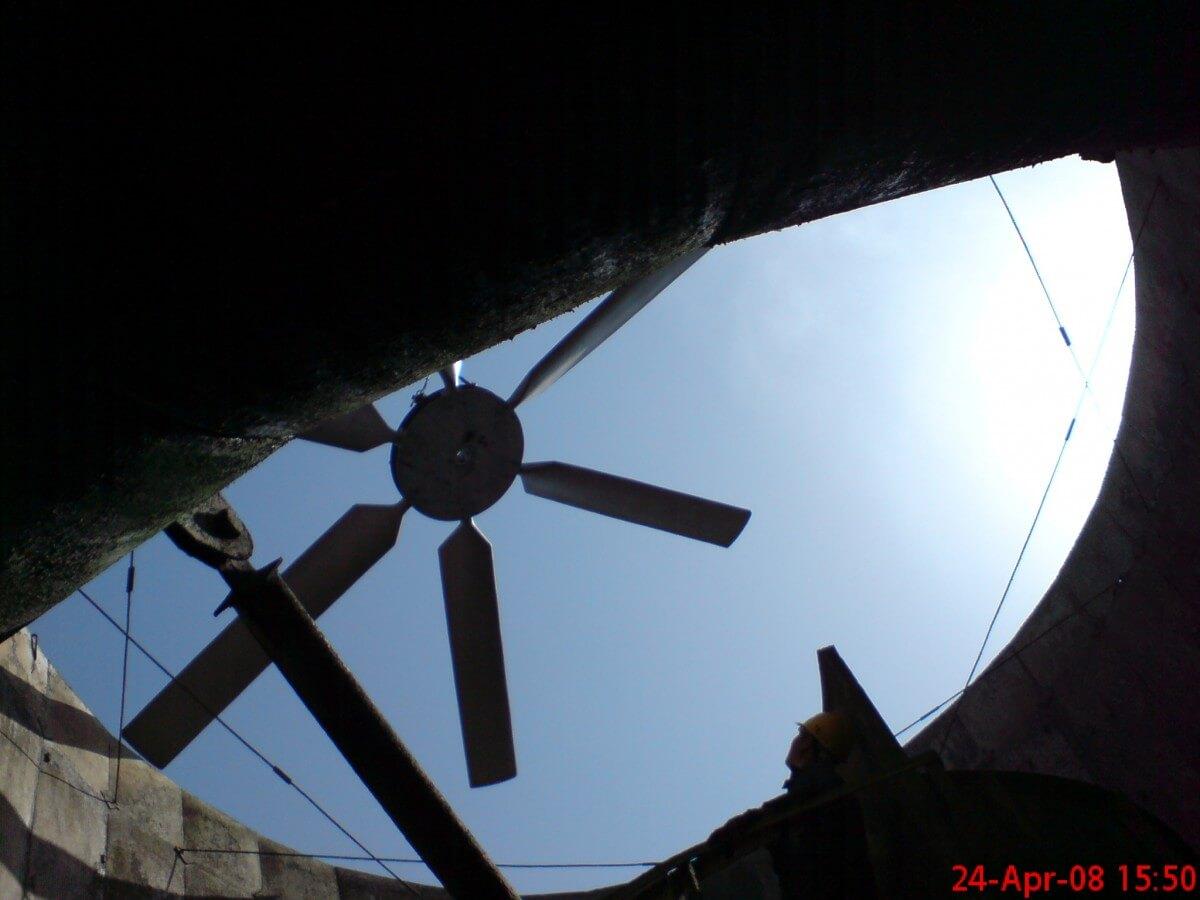 فن برج خنک کننده Cooling Tower Axial Fan