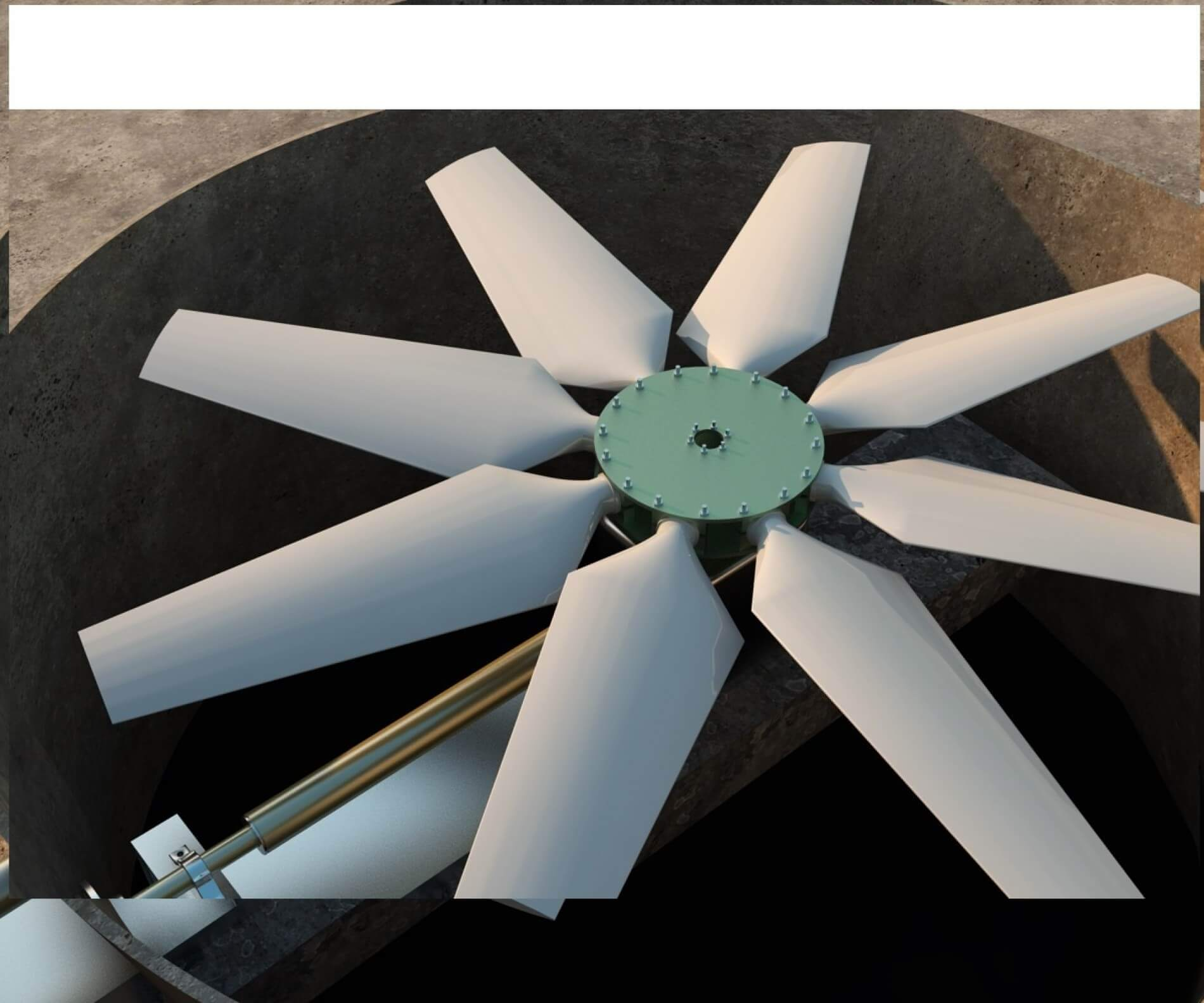 Air Cooled Condenser Axial Fan