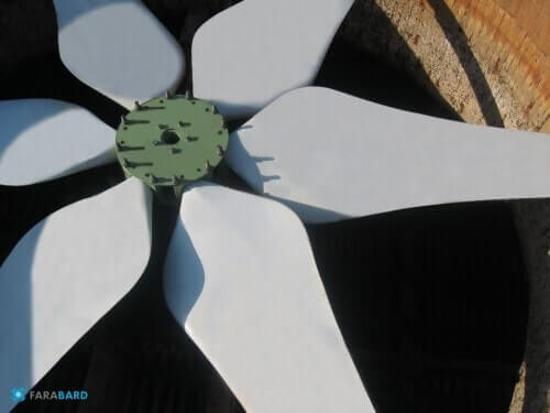 فن کاندنسور ها Air Cooled Condenser Axial Fan