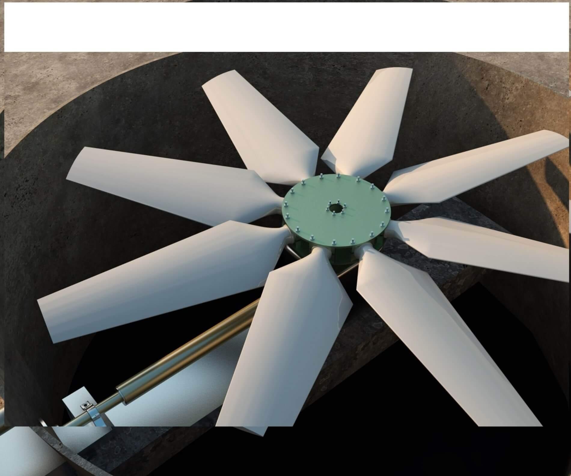 فن برج خنک کننده Cooling Tower