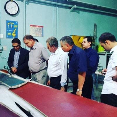 بازدید هیئت روس از کارخانه فرابرد