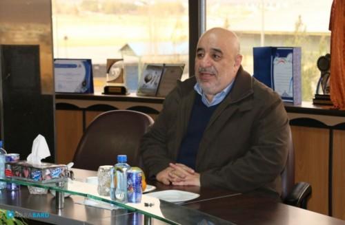 بازدید رئیس هیئت مدیره انجمن ستصا از شرکت فرابرد