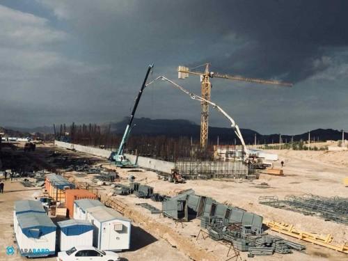 پیشرفت 30 % عملیات پروژه برج خنک کننده پتروشیمی گچساران