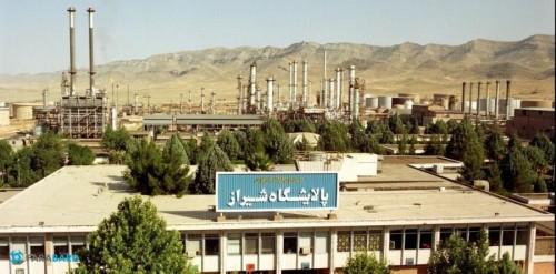 برج خنک کننده پالایشگاه شیراز