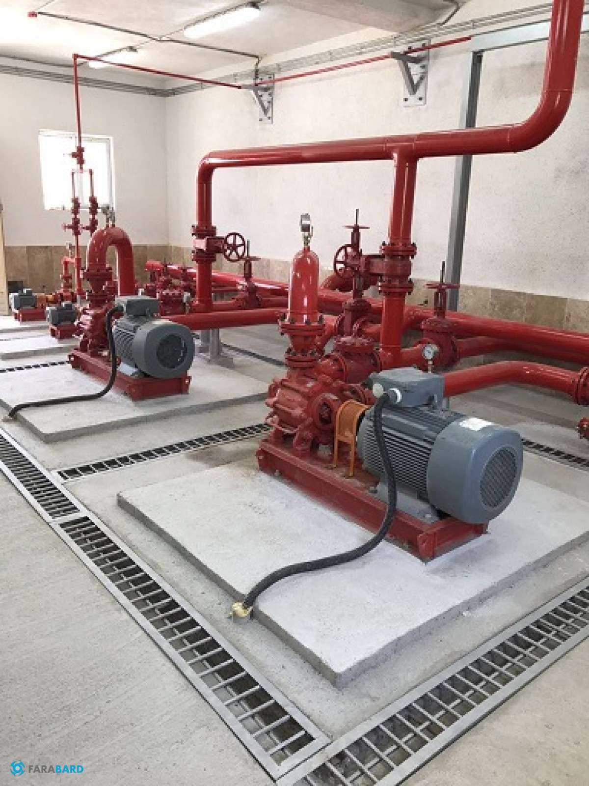 افتتاح پروژه خط لوله آب آتشنشانی پارس جنوبی