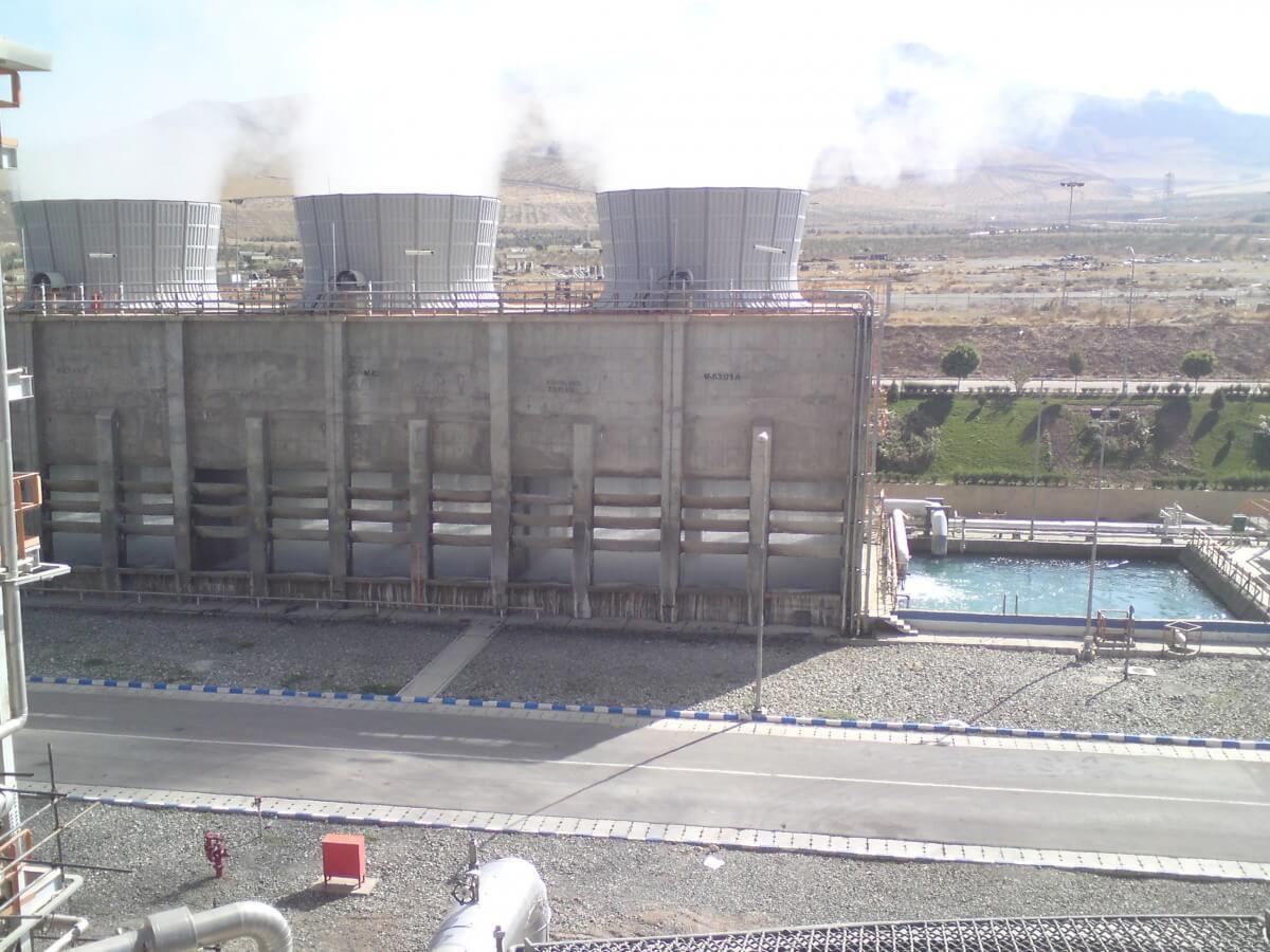 برج خنک کننده بتنی