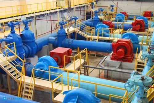 تکمیل ظرفیت تاسیسات انتقال آب زاینده رود به یزد